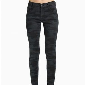 James jeans twiggy black camo skinny jeans